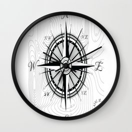 Never-Give-Up Wall Clock