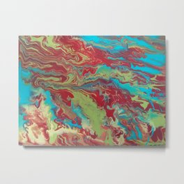 Psychedelic Collection Metal Print
