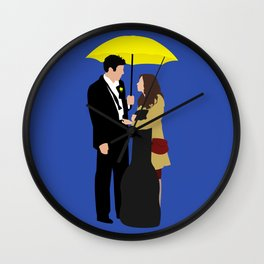Ted and Tracy Wall Clock