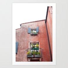 Venetian Windows Art Print