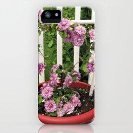 Clematis Josephine iPhone Case