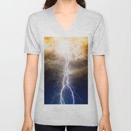 Thunder Unisex V-Neck