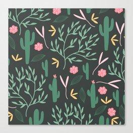 Cactus Garden Summer Canvas Print