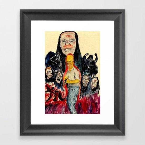 The HΩmega Man Framed Art Print