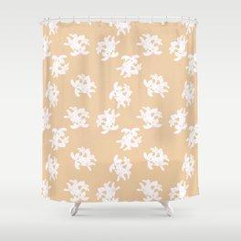 Honeysuckle Bouquet in Georgia Peach Shower Curtain