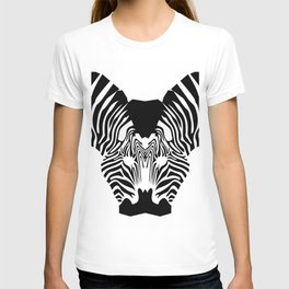 Zebra kiss T-shirt