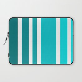 Striped Ombre in Turquoise Laptop Sleeve