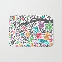 Fruit Of The Spirit (Full Color) Bath Mat