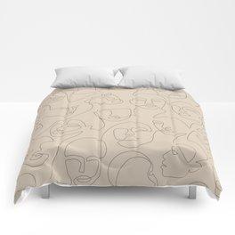 She's Beige Comforters
