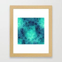 Mandala vibes 3. Framed Art Print