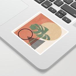 Nature Geometry I Sticker