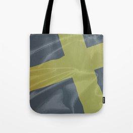 Silk Flag of Saint David Tote Bag