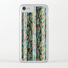 color garden Clear iPhone Case