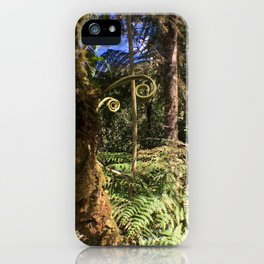 The Ferns of the Cloud Forest iPhone Case