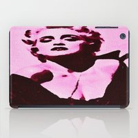 madonna iPad Cases featuring Madonna in Pink by Krista May