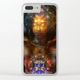 Eyes Of The Beholder Clear iPhone Case