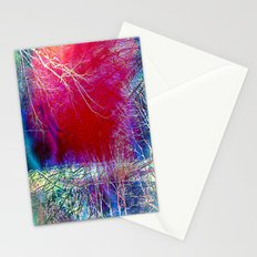 Vintage tree Abstract Stationery Cards