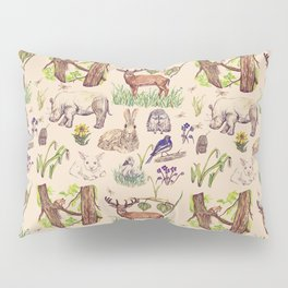 Forest Animals Pillow Sham