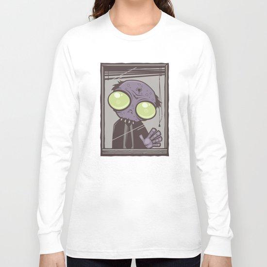 Office Zombie Long Sleeve T-shirt