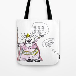ME—awfully full of herself Tote Bag