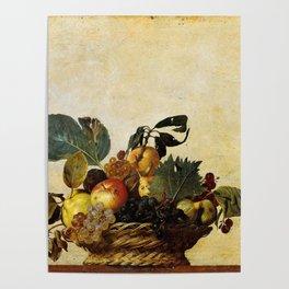 "Michelangelo Merisi da Caravaggio ""Basket of Fruit"" Poster"