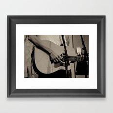 Soundcheck Framed Art Print