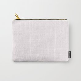 Seashell Pink Solid Pantone #fef6f8 Carry-All Pouch