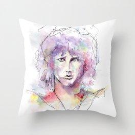 Morrison Doors Throw Pillow