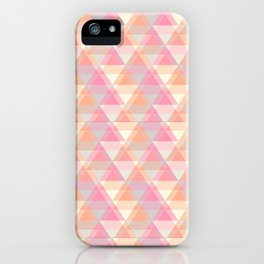 Triangle Reflections iPhone Case