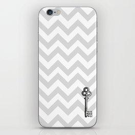 Chevron Key iPhone Skin