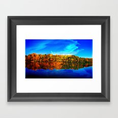 Falls' Lost Memories Framed Art Print