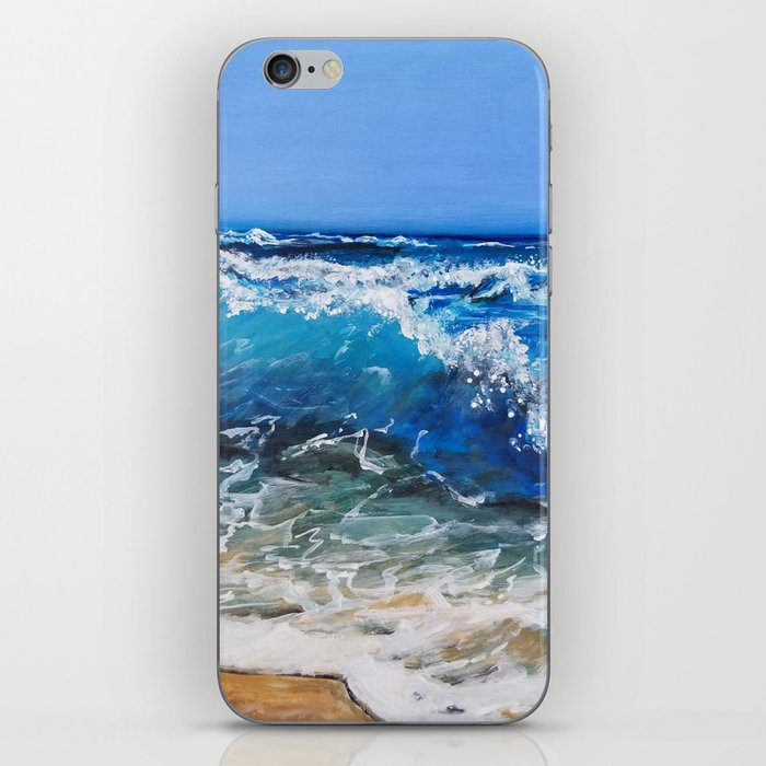 Rough Sea iPhone Skin