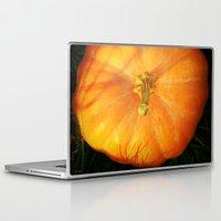 pumpkin Laptop & iPad Skins featuring Pumpkin ^_^ by Julia Kovtunyak