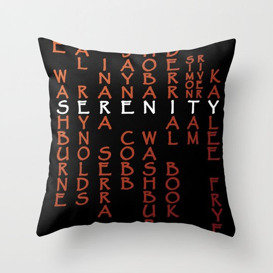 Part of the Crew Throw Pillow