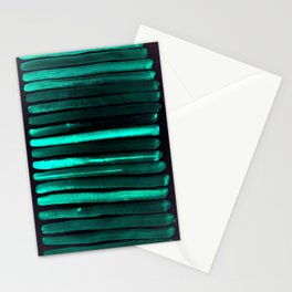 We Have Cold Winter Teal Dreams At Night Stationery Cards