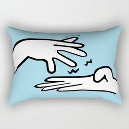 ASL Study Rectangular Pillow