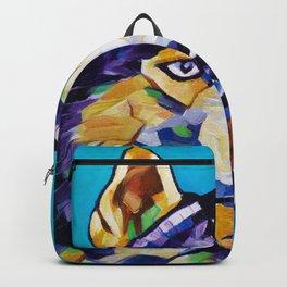 Pop Art Husky Backpack
