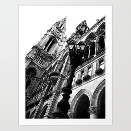 Opera at the Hall in Vienna Art Print