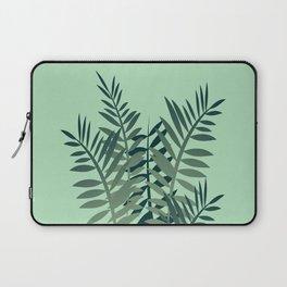 Fern Palm leaves big size green Laptop Sleeve