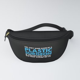Funny Plastic Surgery Boobs Tits Implants Gift Fanny Pack