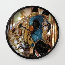 Carousel Horse 2 Wall Clock