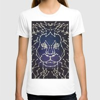 constellation T-shirts featuring Lion Constellation by Domz Agsaway ( dragonhands )