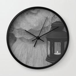 Dark lantern Wall Clock