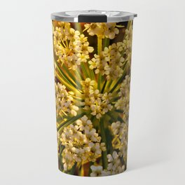 Queen Anne's Lace Travel Mug