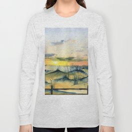 Sunset Over The Dunes Long Sleeve T-shirt