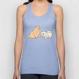 Chow Chow Dog Couple Unisex Tank Top