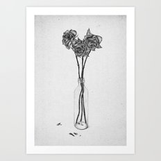 Les Fleurs II Art Print