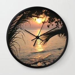 In Between Days Wall Clock