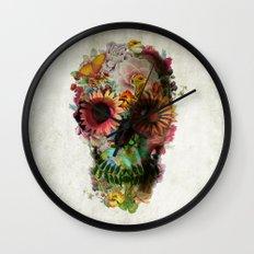 SKULL 2 Wall Clock