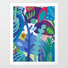 Secret garden IV Art Print